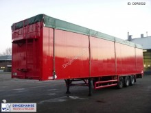 semi remorque Stas Walking floor trailer alu 88 m3 + tarpaulin