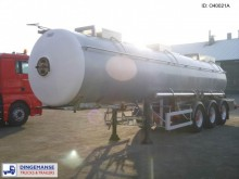Magyar Chemical tank inox 22.3 m3 / 1 comp. semi-trailer
