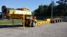 Nicolas heavy equipment transport semi-trailer