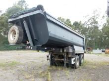 used Galtrailer tipper semi-trailer