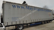 used Humbaur tarp semi-trailer