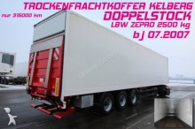 semirimorchio Kel-Berg PRS 27/ DOPPELSTOCK 33/66 LBW ZEPRO 2500 KG !!!!