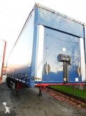used Samro dropside flatbed tarp semi-trailer
