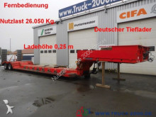 used Dinkel heavy equipment transport semi-trailer