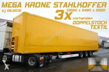 semi remorque fourgon Krone
