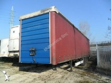 used Fruehauf dropside flatbed tarp semi-trailer