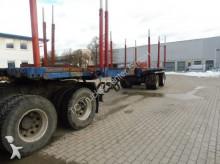 semi reboque transporte de madeira usado