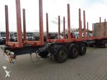used Krone timber semi-trailer