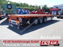ES-GE flatbed semi-trailer