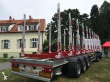 semi reboque transporte de madeira novo