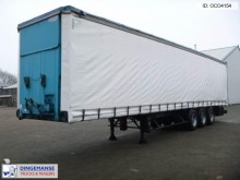 Kaiser Curtain side trailer 92 m3 / lift axle semi-trailer