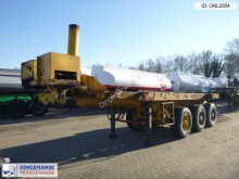 semirimorchio Fruehauf 3-axle container trailer 20-25 ft + tipper cylin
