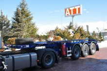 ADR container semi-trailer