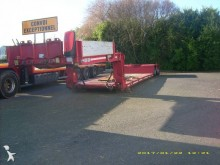 used Faymonville heavy equipment transport semi-trailer
