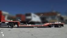 used Leciñena heavy equipment transport semi-trailer