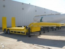 ADR heavy equipment transport semi-trailer