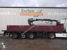semirimorchio Langendorf SAP 27/30, Kennis 16.000 Roll Kran