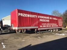 used Wielton heavy equipment transport semi-trailer