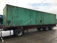 Renders 2 AXEL STEELSPRING MET 40 FEET CONTAINER semi-trailer