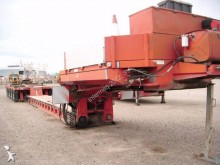 used Gontrailer heavy equipment transport semi-trailer