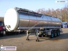 semirremolque Burg Chemical tank inox 31.2 m3 / 1 comp.