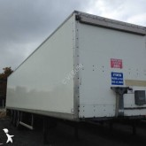 used Trouillet box semi-trailer