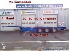 semi remorque Carnehl Container Chassis High Cube 20 30 40 Fuss 1.Hand