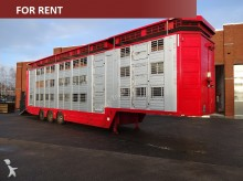semi remorque Finkl 3 stock livestock trailer FOR RENT