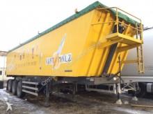 semirimorchio Meiller 50m³ Aluminium-Mulde _ nur Getreide gefahren !!