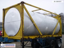 BSL Chemical tank container inox 20 m3 / 20 ft semi-trailer