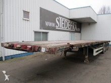Van Hool 3 Axle ROR, Flat Trailer , Twistlocks 40 Feet semi-trailer