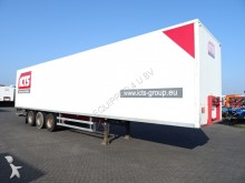 semi remorque Burg Box, full chassis, SAF, taillift