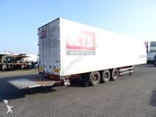 Burg box semi-trailer