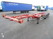 semirremolque Pacton 40FT HC chassis, extendable at the rear, BPW+dru