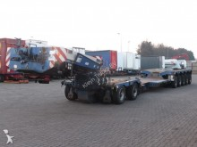 Scheuerle heavy equipment transport semi-trailer