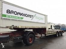 used Goldhofer heavy equipment transport semi-trailer