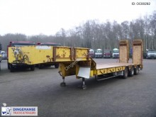 Robuste Kaiser 3-axle semi-lowbed trailer + steering axle semi-trailer