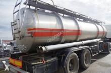 ETA Citerne INOX avec pompe 2 Essieux jumelés semi-trailer