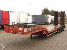 Goldhofer heavy equipment transport semi-trailer