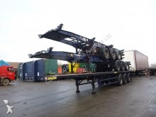 ROR container semi-trailer