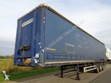 Pacton 3-Axle Tautliner / SAF / Disc / Sideboards semi-trailer