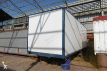 used Mercedes box semi-trailer