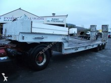 Diebolt heavy equipment transport semi-trailer