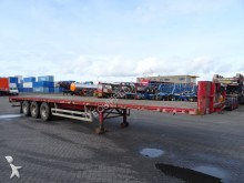 Pacton flatbed, SAF+drum semi-trailer