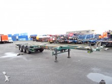 semi reboque Broshuis 45FT HC, 2x extendable, BPW, liftaxle