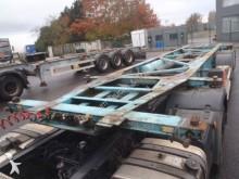 semi remorque Van Hool 20 30 pieds porte container adr produit dangereux