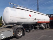 Trailor citerne carburant 40.000 litre 9 compartiments semi-trailer