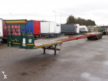 Broshuis 2X EXTENDABLE MAX 27 STEERAXLE semi-trailer