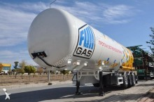 new ADR gas tanker semi-trailer