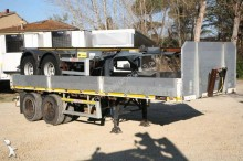used Zorzi dropside flatbed semi-trailer